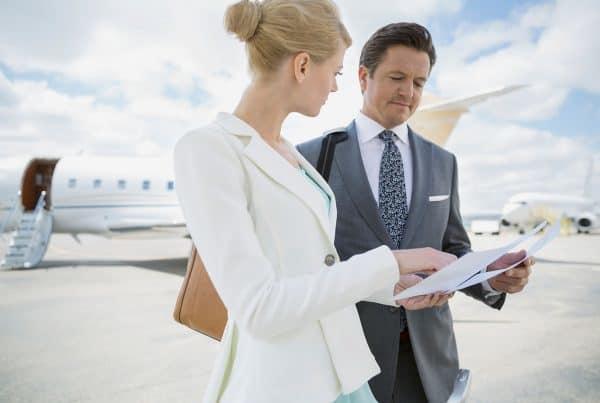 Private jet huren manager
