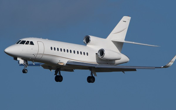 Large sized private jet