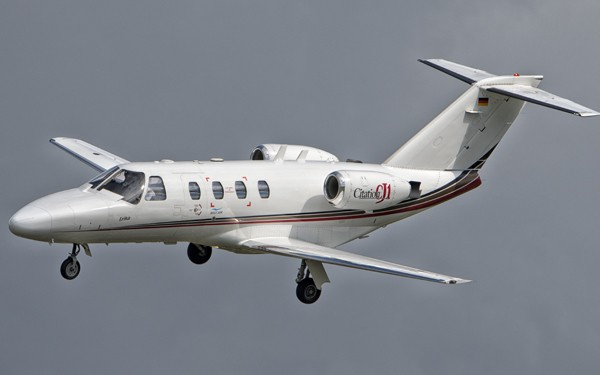 Small sized private jet